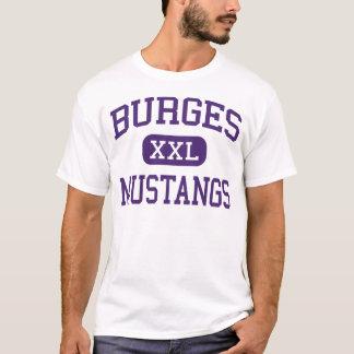 Camiseta Burges - mustang - segundo grau - El Paso Texas