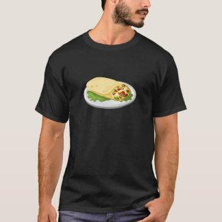 Camiseta Burrito amável do breakfurst da comida do pulso