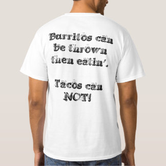 Camiseta Burrito da equipe