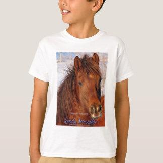 Camiseta Burrito simplesmente irresistível do cavalo do