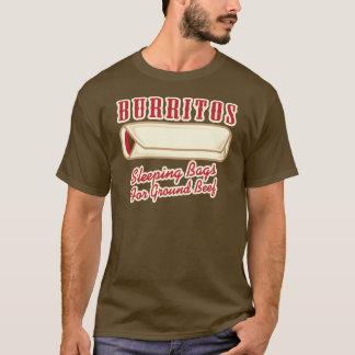 Camiseta Burritos, as bolsas de sono para a carne picada