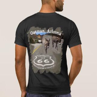 Camiseta Burros na rua de Oatman, arizona