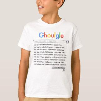 Camiseta Busca minúscula 2017 do traje de Ghoulgle última o