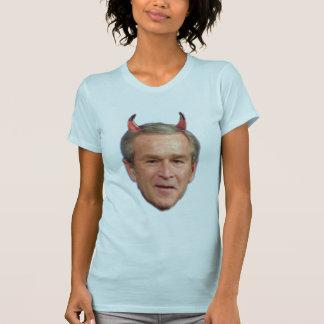Camiseta Bush - diabo, Cheney - diabo