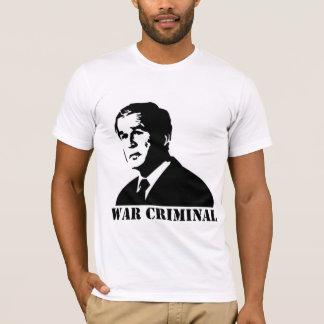 Camiseta Bush é um criminoso de guerra
