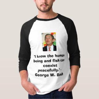 Camiseta Bush na paz