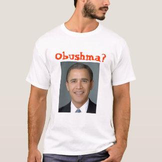 Camiseta Bush-obama, Obushma?