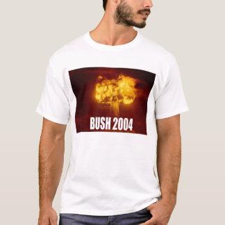 Camiseta Bush para o guerreiro nuclear