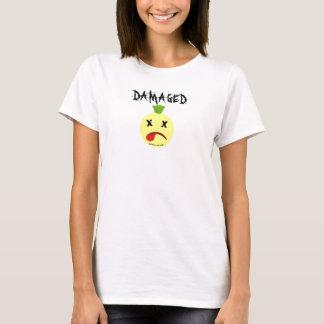 Camiseta butstilloksmily cópia da cara, DANIFICADA