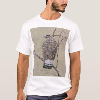 Camiseta Buzzard Áspero-equipado com pernas americano