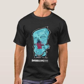 """Camiseta """"BWAAAIIIINS!"""" T-shirt da palavra de Zombaby"""