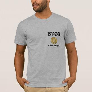 Camiseta BYOB seja seu próprio banco - código do tshirt &