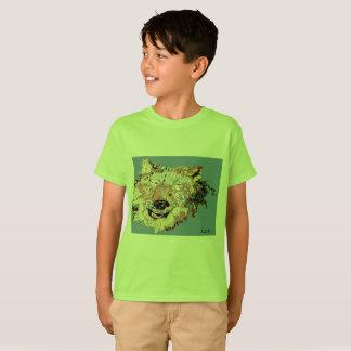 Camiseta bySarr original do trabalho/impressões de arte