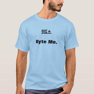 Camiseta byte do sysadmin do computador mim tshirt
