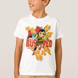 Camiseta Bzzzz rebentou o T protegido dos miúdos