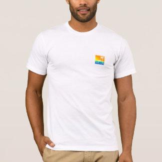 Camiseta CA - onda azul da lava