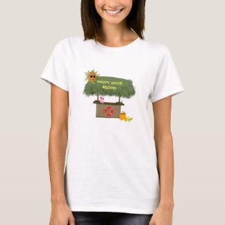 Camiseta Cabana engraçada do bar de Tiki da ilha de