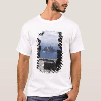 Camiseta Cabanas de pedra Clochanson Skellig Michael da