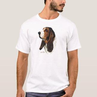 Camiseta Cabeça 1 de Basset Hound