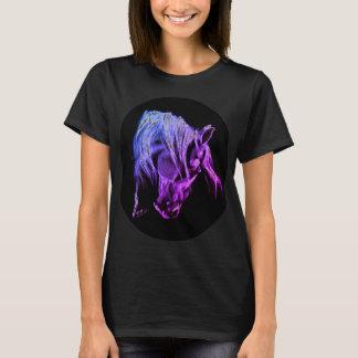 Camiseta Cabeça de cavalo colorida