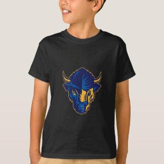 Camiseta Cabeça do bisonte americano retro