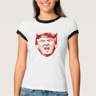 Camiseta Cabeça do diabo do trunfo - Anti-Trunfo -