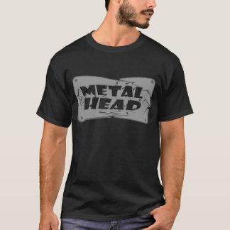 Camiseta Cabeça do metal