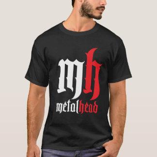 Camiseta Cabeça do metal com borda!