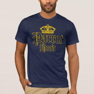 Camiseta Cabeça do papagaio da corona