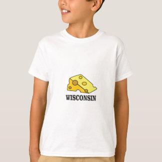 Camiseta Cabeça do queijo de Wisconsin