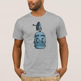 Camiseta cabeça do robô