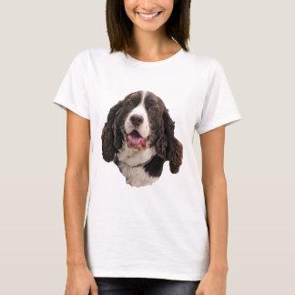 Camiseta Cabeça do Spaniel de Springer