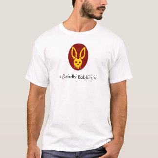 Camiseta Cabeça mortal do coelho, <Deadly Rabbits>