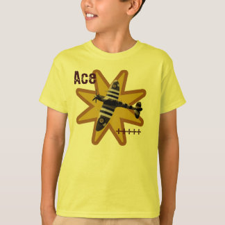 Camiseta Cabeça-quente do ás - miúdos
