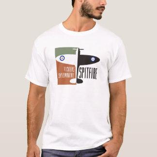 Camiseta cabeça-quente do supermarine dos vickers