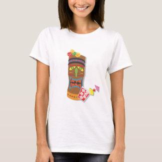 Camiseta Cabeça retro de Tiki