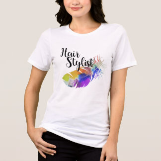 Camiseta Cabeleireiro - aguarelas da pena