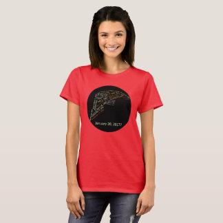 Camiseta Cabelo do trunfo das datas infames