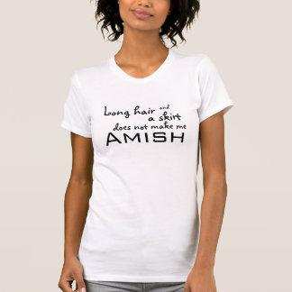 Camiseta Cabelo longo e uma saia…