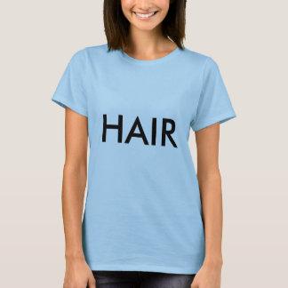 Camiseta CABELO o T das mulheres musicais