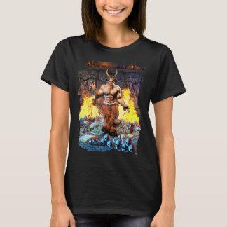 Camiseta Cabra sabática Baphomet satânico