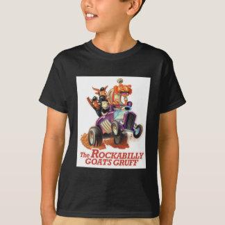 Camiseta Cabras Rockabilly ásperos - troll do hot rod