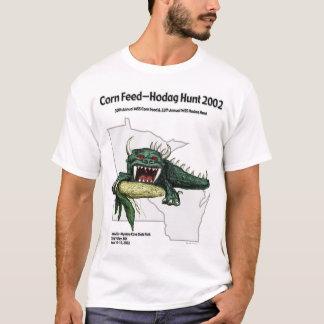 Camiseta Caça 2002 de Hodag da alimentação do milho
