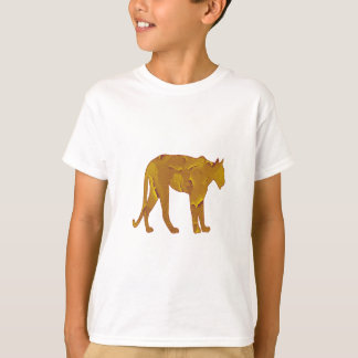 Camiseta Caça do deserto