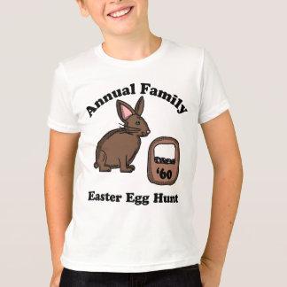 Camiseta Caça do ovo da páscoa da família de 1960 anuários