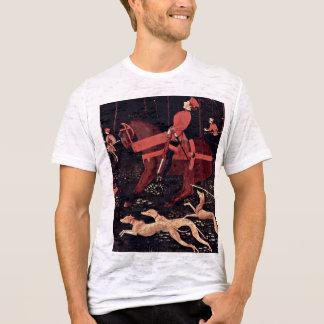 Camiseta Caça em detalhes da noite por Uccello Paolo