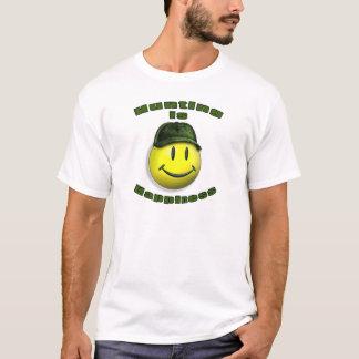 Camiseta caça feliz
