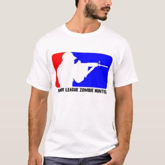 Camiseta Caçador 3 do zombi da liga principal