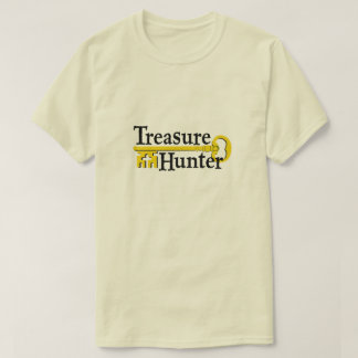 Camiseta Caçador de tesouro com chave do ouro