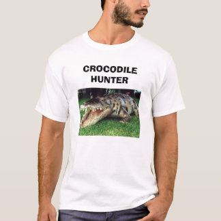 CAMISETA CAÇADOR DO CROCODILO
